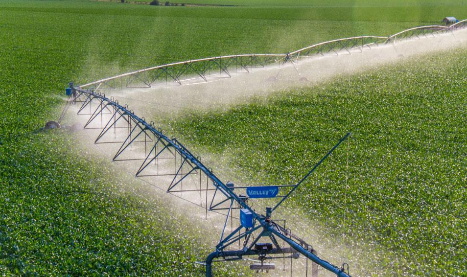 Valley Irrigation Corners